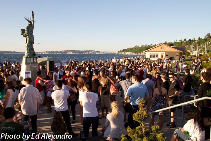 salsa on alki beach for 2017 since 2009